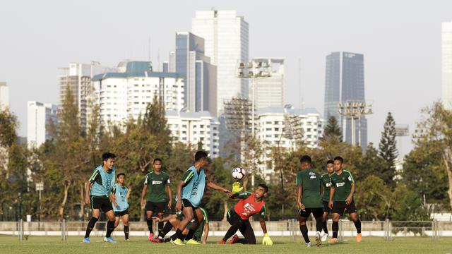 Jelang Berlaga di China, Timnas Indonesia U-22 Asah Kemampuan Menyerang