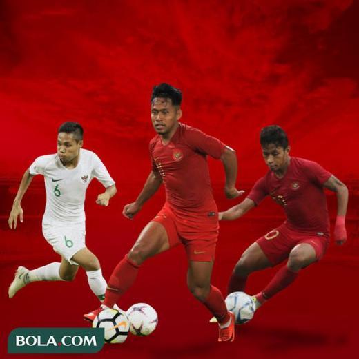 Timnas Indonesia - Evan Dimas, Andik Vermansah, Osvaldo Haay