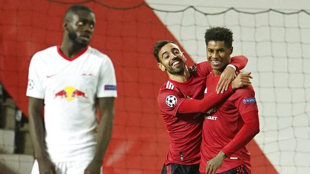 Marcus Rashford Hattrick, Manchester United Pesta Gol ke Gawang RB Leipzig