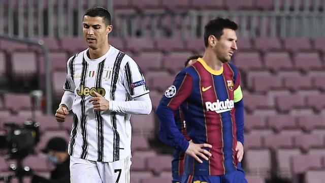 FOTO: Momen Kedekatan Lionel Messi dan Cristiano Ronaldo Saat Barcelona Jumpa Juventus di Liga Champions